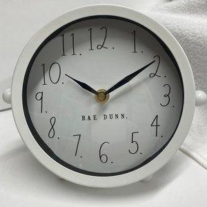 Rae Dunn Table Clock NEW